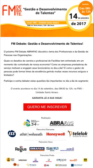 FM Debate Gestão e Desenvolvimento de Talentos
