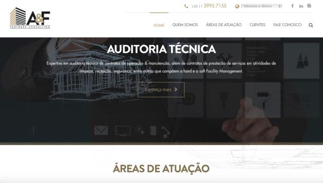Novo site A&F